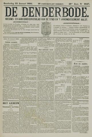 De Denderbode 1894-01-25