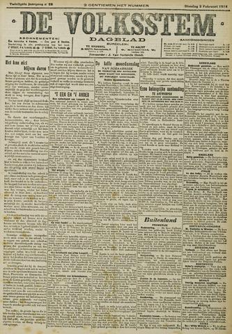 De Volksstem 1914-02-03