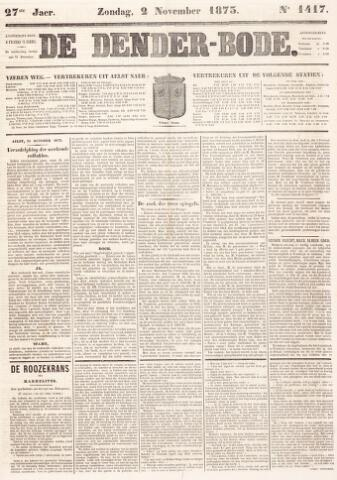 De Denderbode 1873-11-02