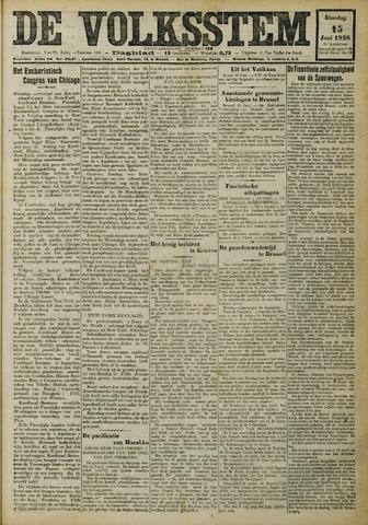 De Volksstem 1926-06-15