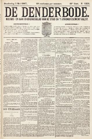 De Denderbode 1887-05-05