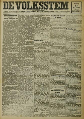 De Volksstem 1923-01-23