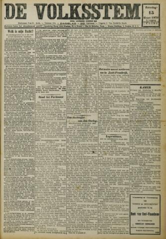 De Volksstem 1930-03-15