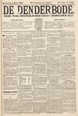 De Denderbode 1887-03-03