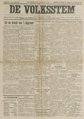 De Volksstem 1941-02-22