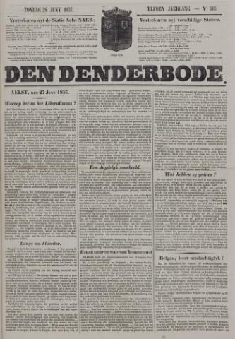 De Denderbode 1857-06-28