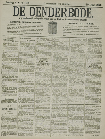 De Denderbode 1906-04-08