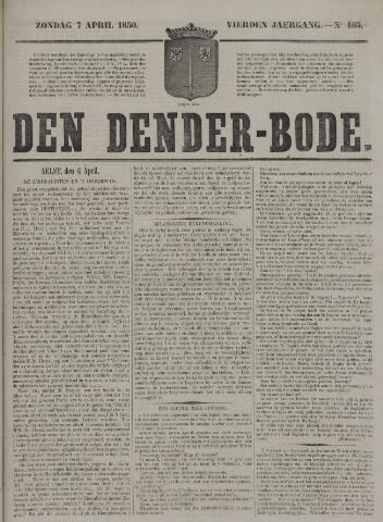 De Denderbode 1850-04-07