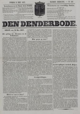 De Denderbode 1857-05-31