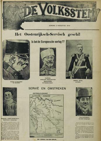 De Volksstem 1914-08-02