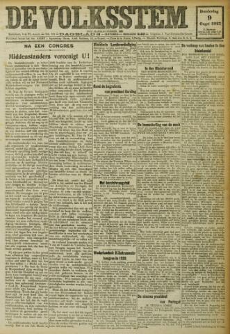 De Volksstem 1923-08-09