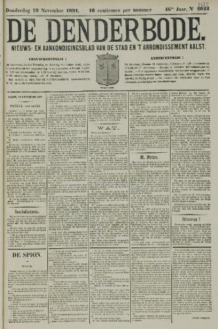 De Denderbode 1891-11-19