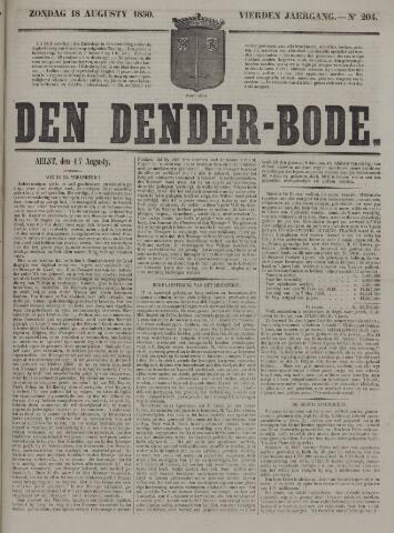 De Denderbode 1850-08-18