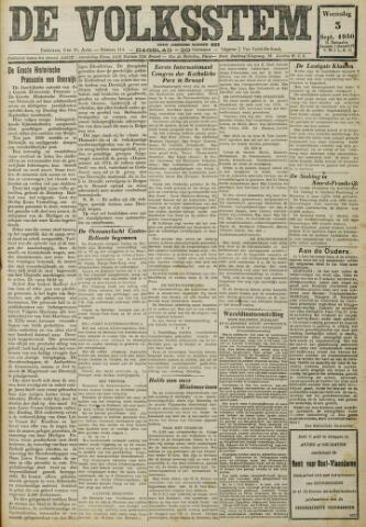 De Volksstem 1930-09-03