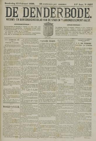 De Denderbode 1890-02-13