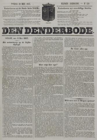 De Denderbode 1857-05-10