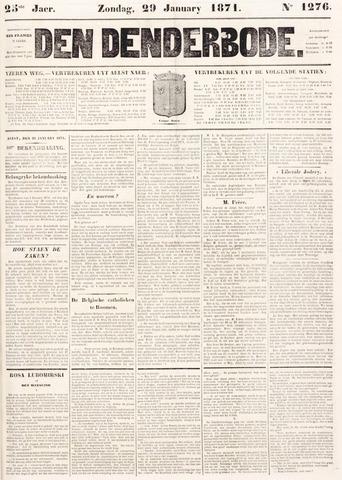 De Denderbode 1871-01-29