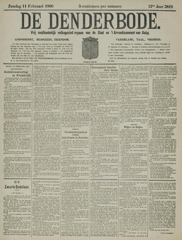 De Denderbode 1906-02-11