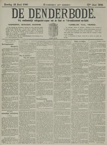 De Denderbode 1906-06-24