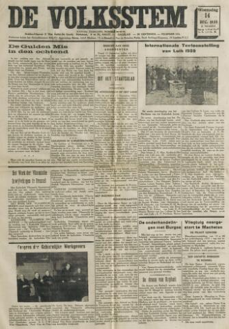 De Volksstem 1938-12-14