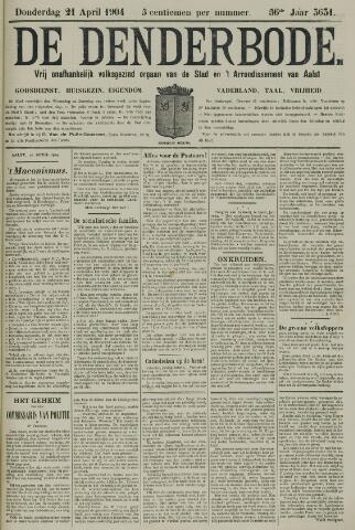 De Denderbode 1904-04-21