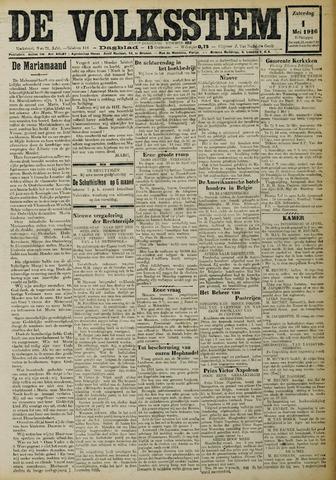 De Volksstem 1926-05-01