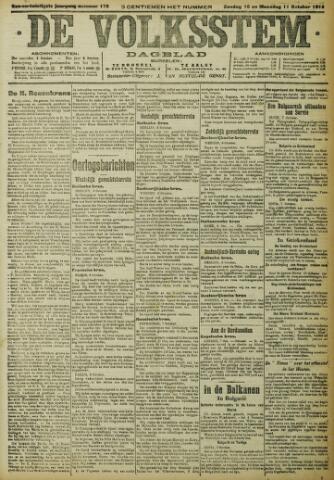 De Volksstem 1915-10-10