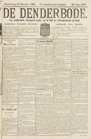 De Denderbode 1901-10-17
