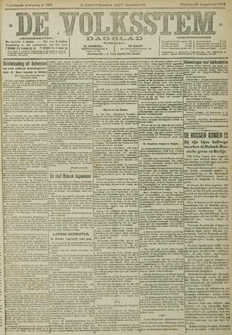 De Volksstem 1914-08-28