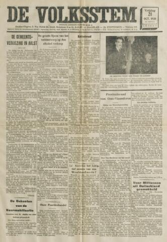 De Volksstem 1938-10-21
