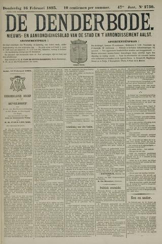 De Denderbode 1893-02-16