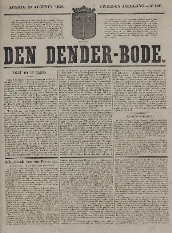 De Denderbode 1848-08-20
