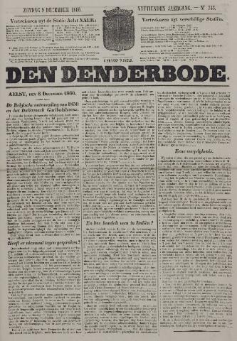 De Denderbode 1860-12-09