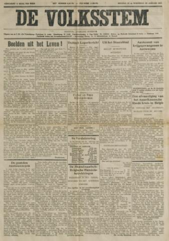 De Volksstem 1941-01-21