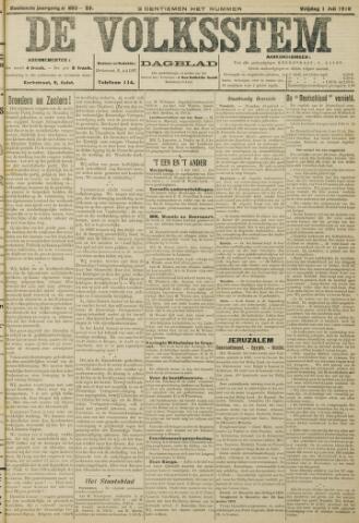 De Volksstem 1910-07-01