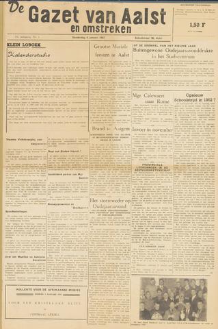 De Gazet van Aalst 1962