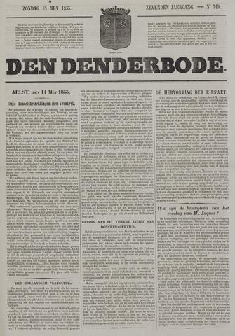 De Denderbode 1853-05-15