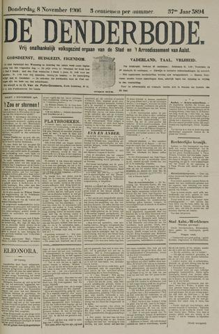 De Denderbode 1906-11-08