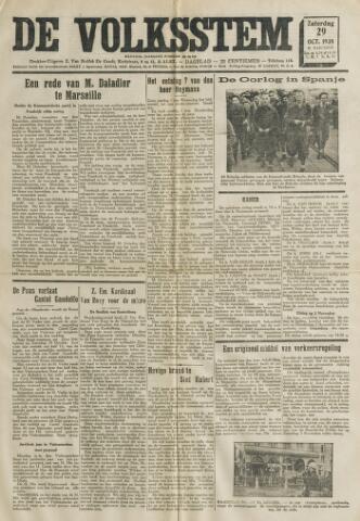 De Volksstem 1938-10-29