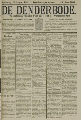 De Denderbode 1895-08-22