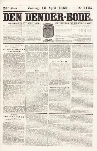 De Denderbode 1869-04-18