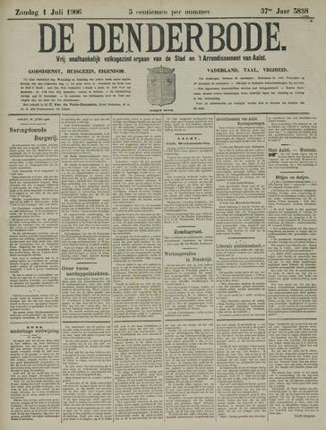 De Denderbode 1906-07-01