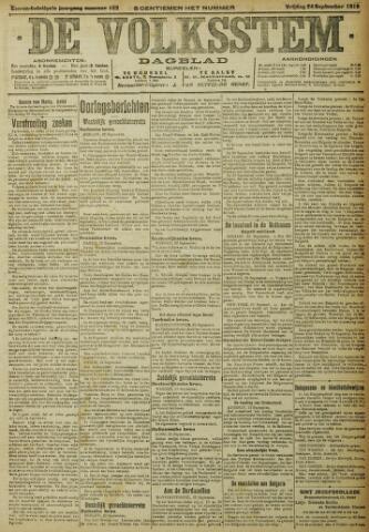 De Volksstem 1915-09-24