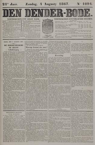 De Denderbode 1867-08-04