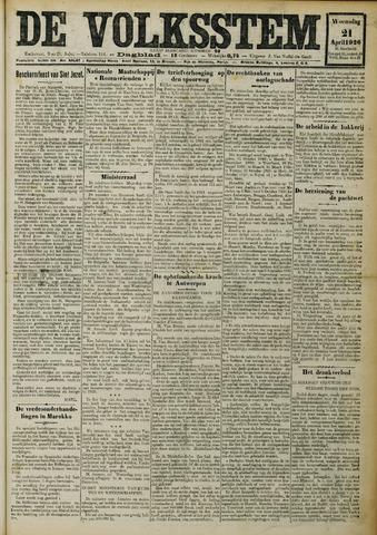 De Volksstem 1926-04-21