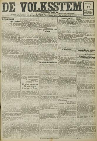 De Volksstem 1931-03-17
