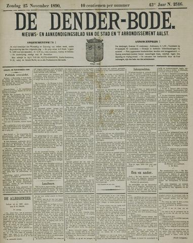 De Denderbode 1890-11-23