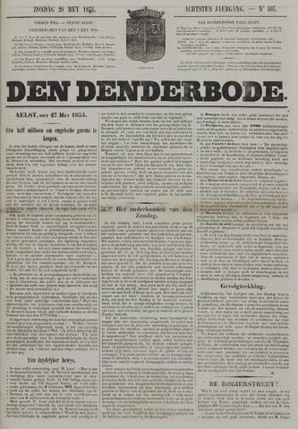 De Denderbode 1854-05-28