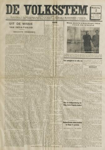 De Volksstem 1938-06-02