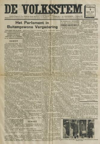 De Volksstem 1938-10-06